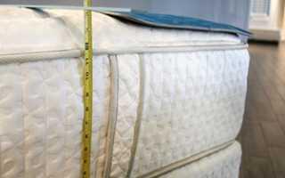 Какую высоту матраса выбрать для кровати?