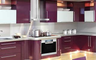 Что такое акриловые фасады для кухни?
