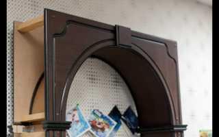 Установка готовой арки