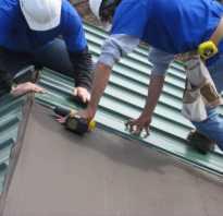 Технология укладки профнастила на крышу