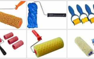 Структурные валики для декоративной штукатурки