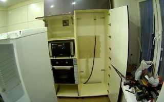 Можно ли морозильную камеру ставить в шкаф?