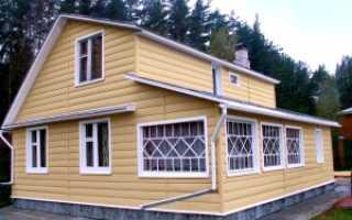 Размер сайдинга для обшивки дома цена