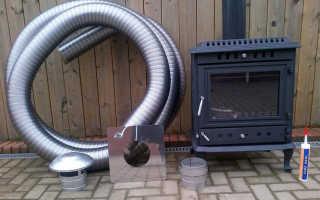 Гибкий дымоход для газового котла