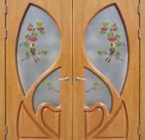 Установка дверных панелей МДФ