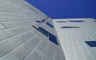 Навесной фасад из композитных панелей
