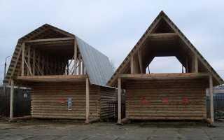 Как правильно поставить стропила на двухскатную крышу?