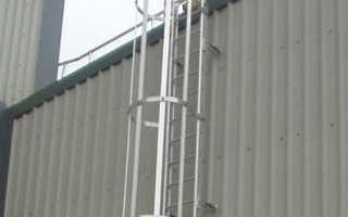 Лестница для кровли крыши