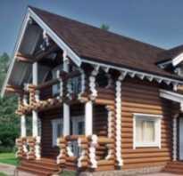 Дом из оцилиндрованного бревна плюсы и минусы