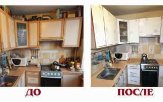 Чем можно покрасить кухонную мебель?