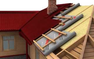 Как рассчитать количество утеплителя на крышу