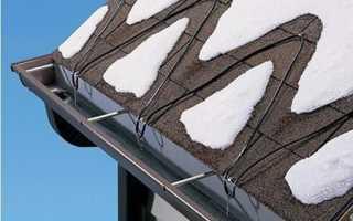 Защита от сосулек на крыше