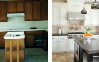 Как задекорировать фасад кухни?