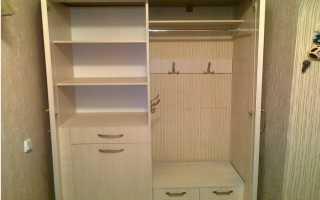 Как сделать нишу для встроенного шкафа?