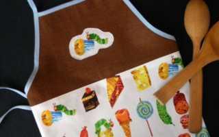Детские фартуки для кухни