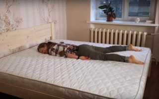 Как самому сделать деревянную кровать?