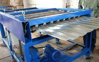 Станок для производства металлопрофиля