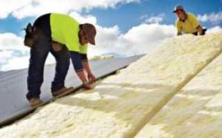 Как сделать теплую крышу дома