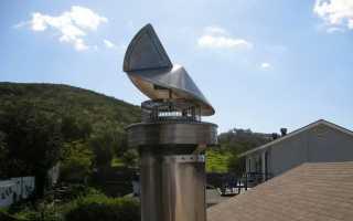 Какой дефлектор лучше на дымоход?