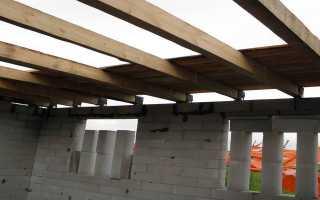 Деревянные перекрытия в доме из пеноблоков