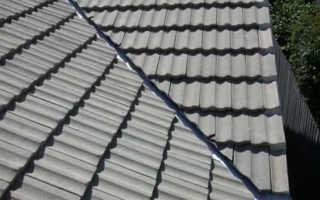 Крыша с ендовой стропильная система