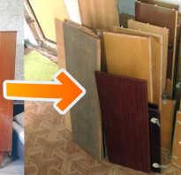 Как разобрать клееную мебель?