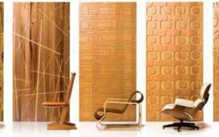 Декоративные деревянные панели для стен