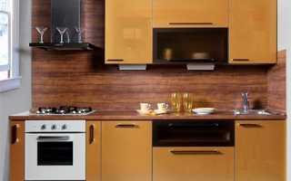 Как крепить кухонный фартук из МДФ?